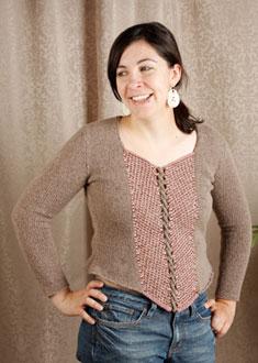 Knitting Gallery - Ahlstrom Bodice Stefanie