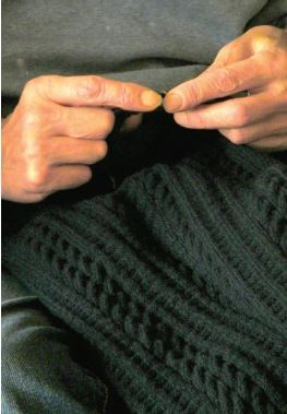gansey knit needlework traditions