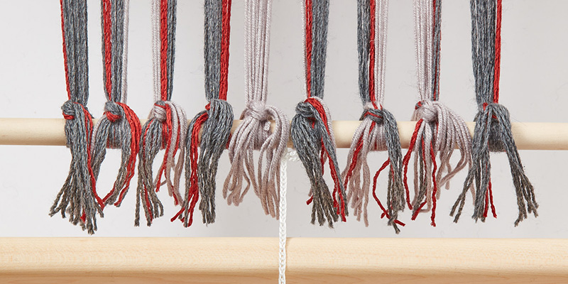 Fastening Your Warp: How to Tie onto the Front of a Loom