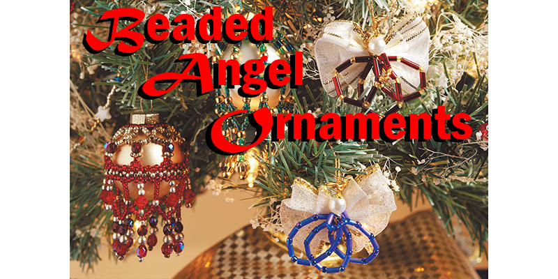 DIY Angel Beaded Ornaments How-To