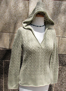 Knitting Gallery - Apres Surf Hoodie Bertha