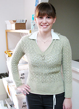 Knitting Gallery - Apres Surf Hoodie Elizabeth