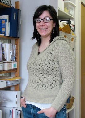 Knitting Gallery - Apres Surf Hoodie Stefanie
