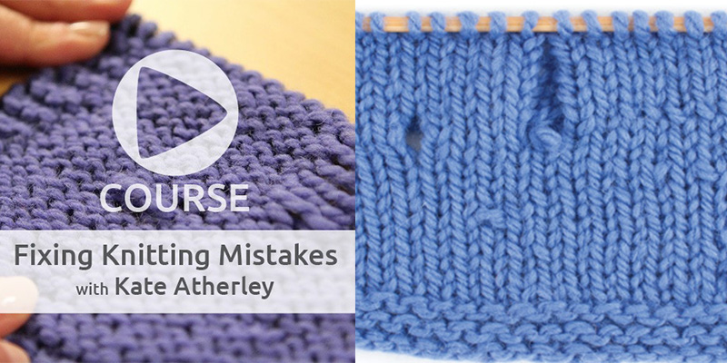 Kate Will Teach You How to Fix Knitting Mistakes!