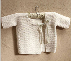 Baby Knitting Patterns: The Baby Kimono. So cute!