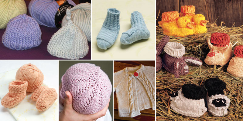 9 Free Baby Knitting Patterns: Love for Little Ones