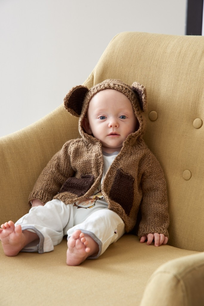 bear knitting pattern for baby