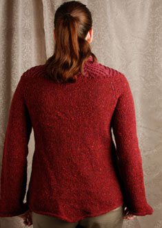 Knitting Gallery - Backstage Tweed Jacket Erin