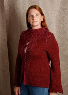 Knitting Gallery - Backstage Tweed Jacket Kat