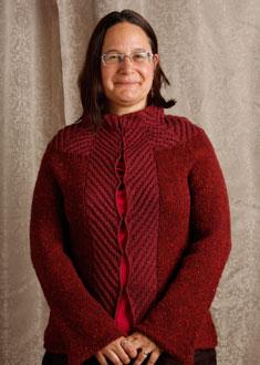 Knitting Gallery - Backstage Tweed Jacket Sandi