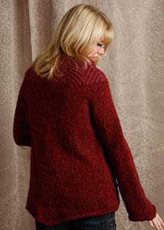 Knitting Gallery - Backstage Tweed Jacket Toni