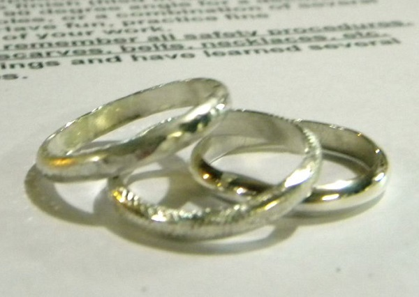 ring band and stack ring making tutorial