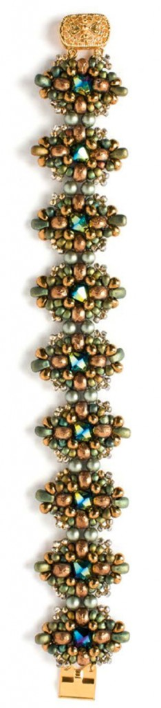 """Baroque Sonata"" bracelet project by Sandie Bachand."