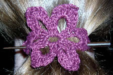 Flower Power Barrette