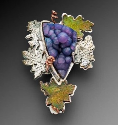 Batu Manakarra (Grape Agate) Jewelry by Lexi Erickson