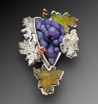 Batu Manakarra (Grape Agate) Jewelry by Lexi Erickson