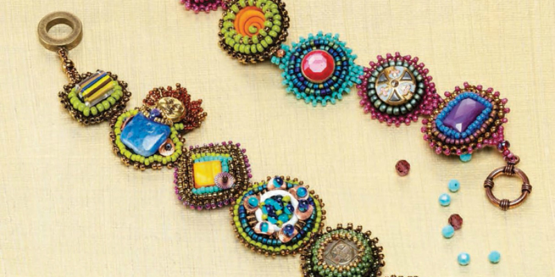 Bead Embellishments You'll Love: Picots, Fringe, and Stitch-in-the-Ditch