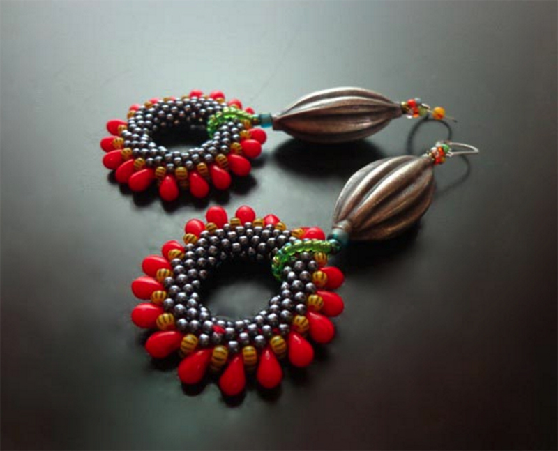 bead crochet, Barb Switzer, Annette Mackrel