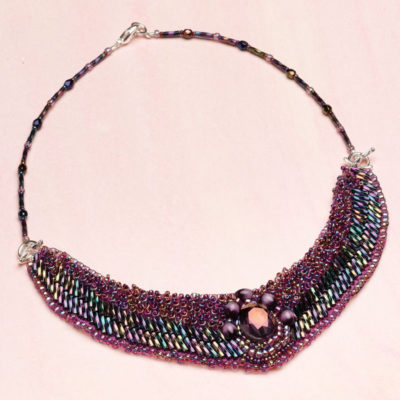 Learn how to make beaded necklaces and chokers in this FREE eBook.