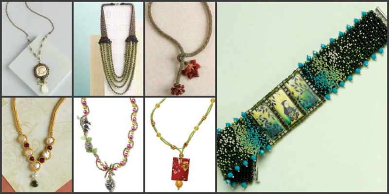 Free beaded necklaces to make!