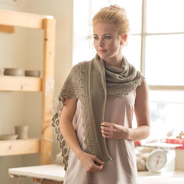 beech leaf shawl