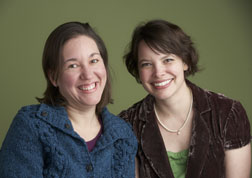 Spin-Off editors Amy Clark Moore and Liz Good