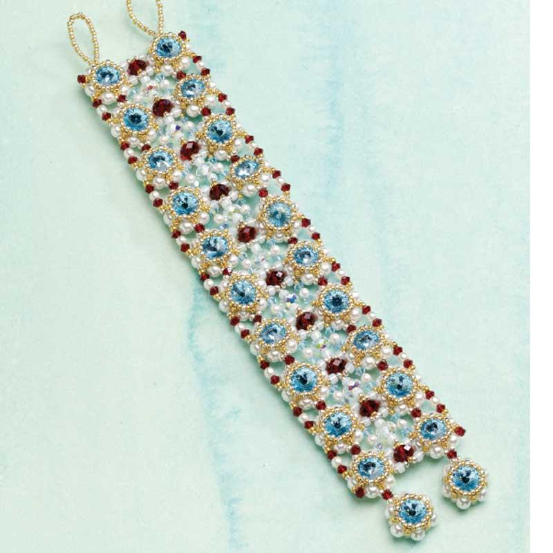 Handmade Crystal Jewelry, Bellagio Bracelet by Monica Vinci