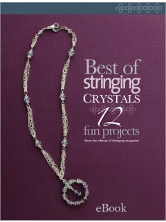stringing crystals beads