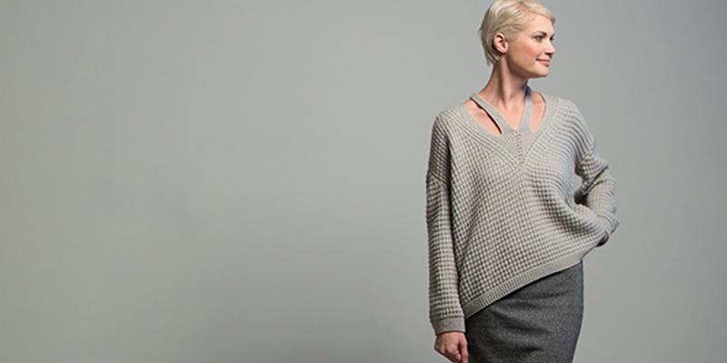 Deadline Knitting: The Big Sur Pullover