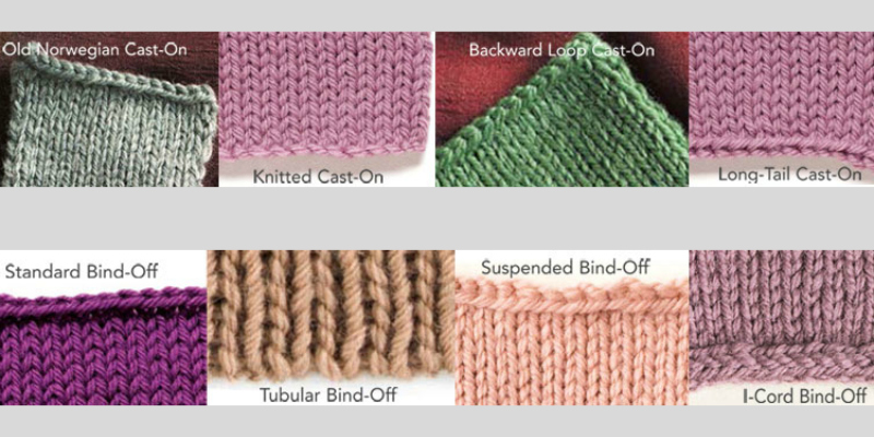 Bind-Off and Cast-On Knitting Instructions, Free Guide!