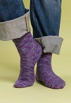 blackberry jam socks Knitting Pattern