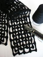 Madelyn van der Hoogt's felted Marino scarf