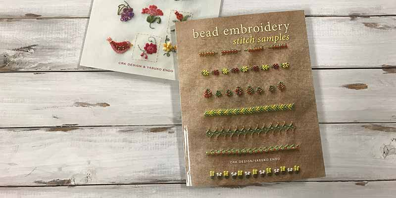 Create Bead Embroidery Stitch Samples and Dress Up Your Wardrobe