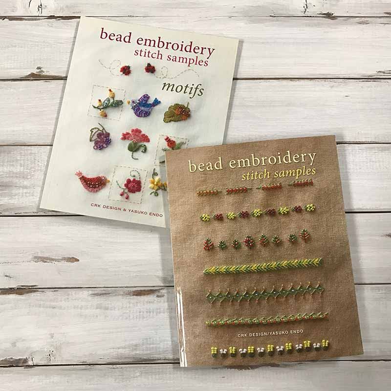 Use bead embroidery stitches to dress up your wardrobe.