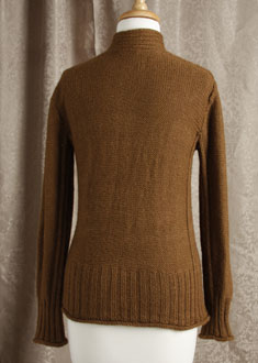 Knitting Gallery - Braided Pullover  Bertha