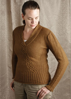 Knitting Gallery - Braided Pullover  erin