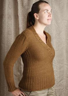 Knitting Gallery - Braided Pullover erin