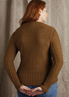 Knitting Gallery - Braided Pullover Kat
