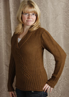 Knitting Gallery -  Braided Pullover Toni