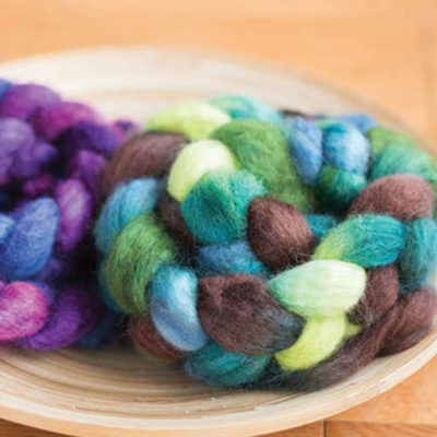 What secrets lie inside these braids of hand-dyed fiber?