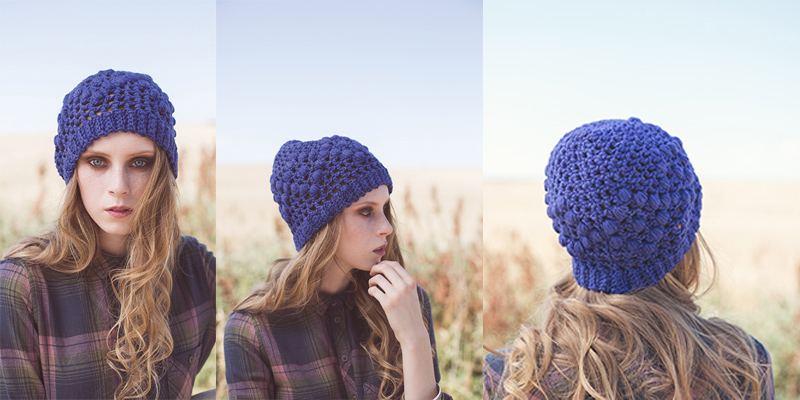 WWDD: Three Ways to Wear a Bright Crochet Beanie