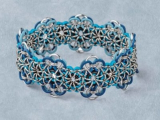 Wouldn't a colorful, one-size-fits-most bracelet make the perfect holiday gift? Designer Michelle Brennan has also put together a conveniently packaged, complete supply kit for her Stretchy Chain Maille bracelet pattern, available now only from Interweave. Photo: Jim Lawson