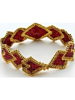 brick stitch bracelet beading patterns