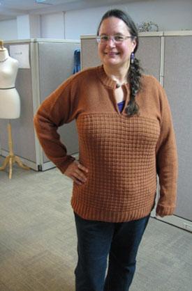 Knitting Gallery - Brick Pullover Sandi