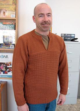 TJ in Brick Pullover