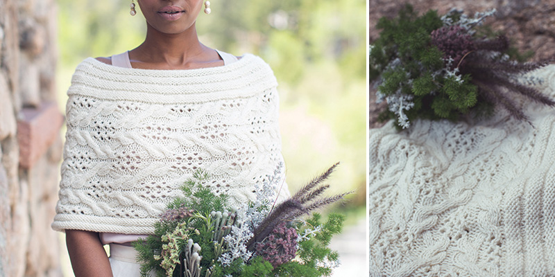 A Wedding Capelet to Knit