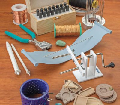 jewelry artist: The latest gadgets for bridge jewelry making with Helen Driggs in Cool Tools & Hip Tips. Photo: Jim Lawson