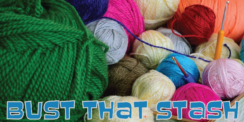 Bust that stash - this week's featured pattern of the week