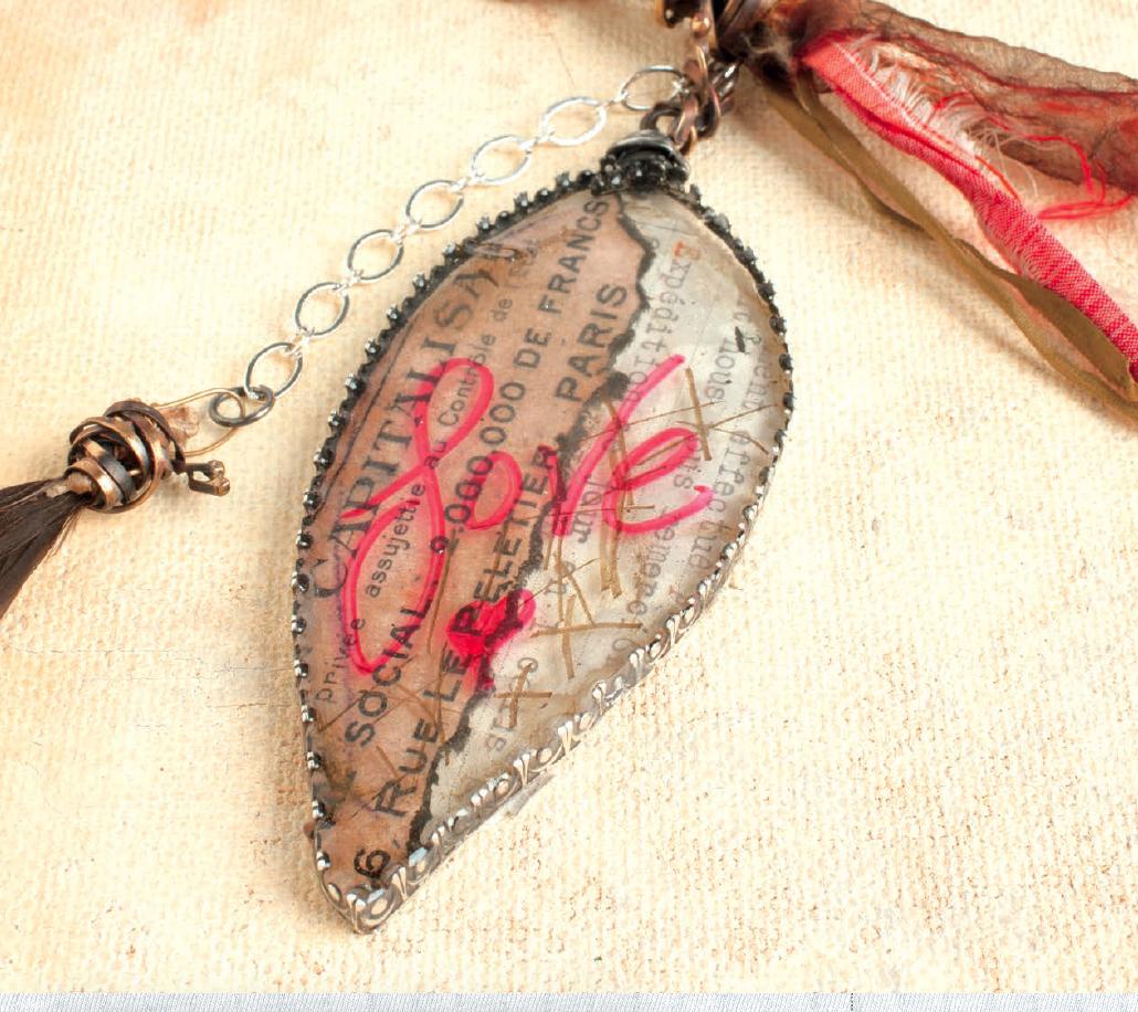 Resin Alchemy, resin jewelry making by Susan Lenart Kazmer