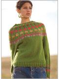 Cactus Blossom Pullover